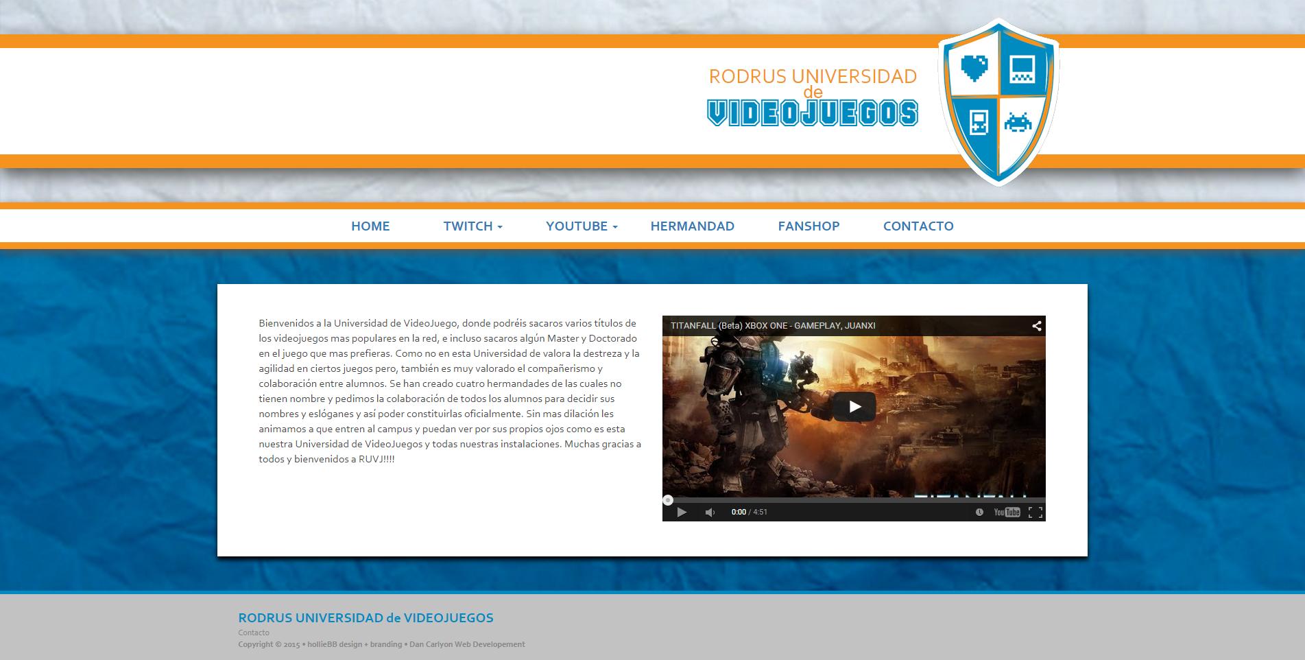 Rodrus Gaming - Community Website